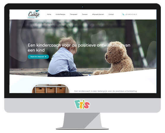 Webdesign Kindercoaching Cientje